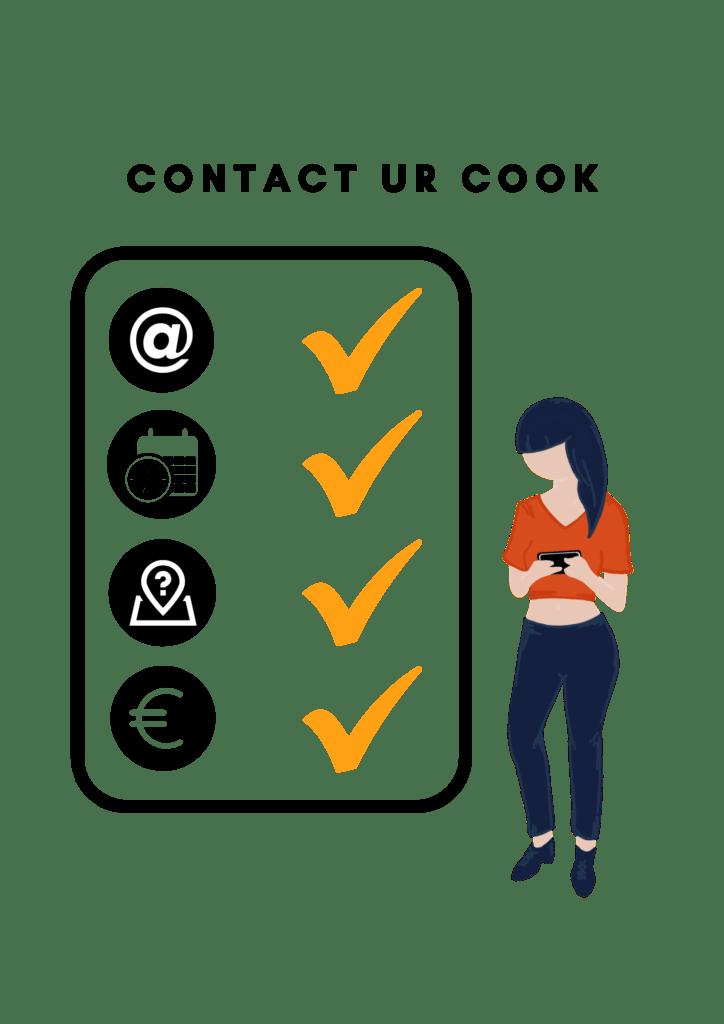 Contact URCOOK